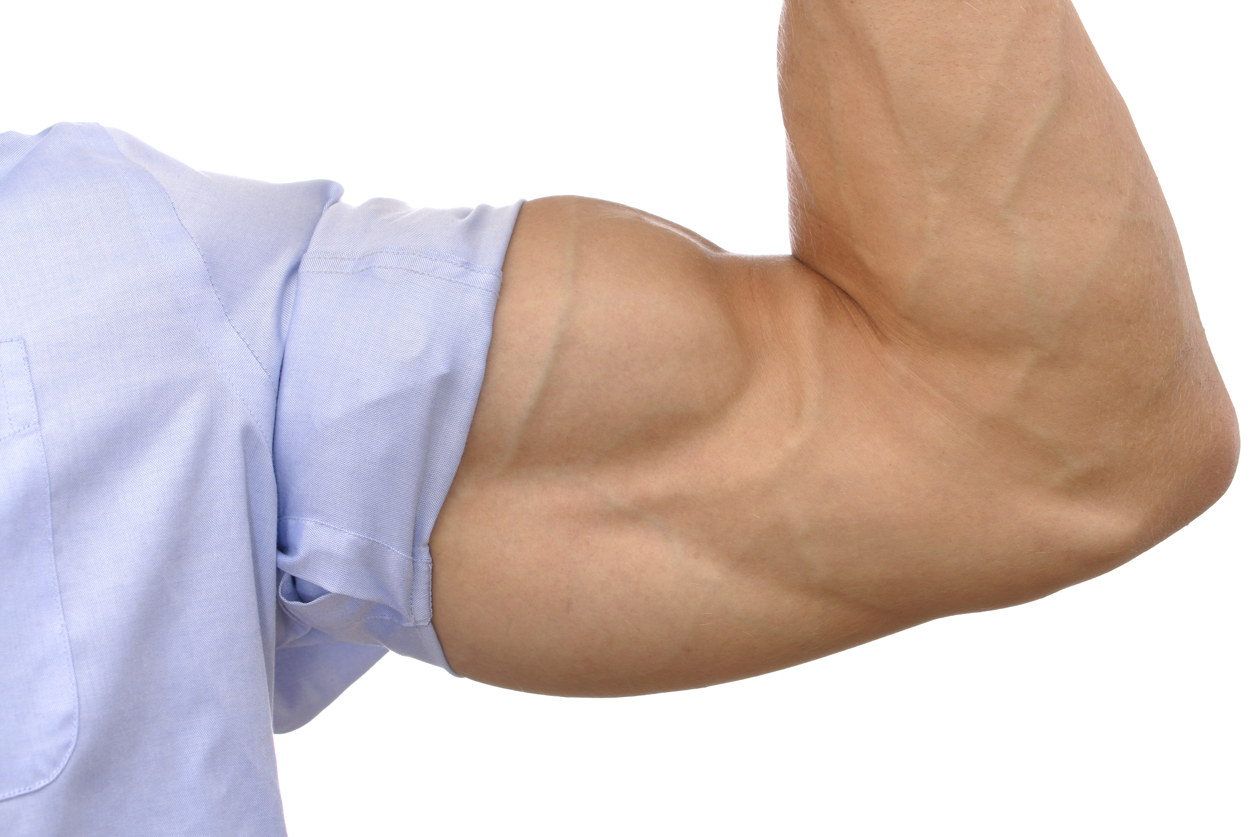 train your biceps